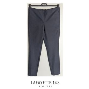{Ships free} Lafayette 148 | Navy Courtland Pants